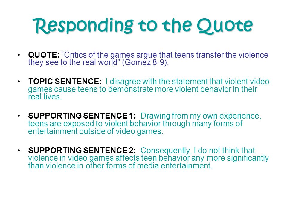 essay on video games violence essay