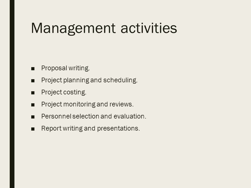Project Management Software Project Management It Is The