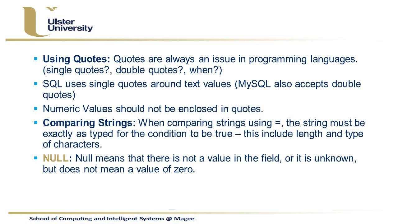 Web Development Quotes Com621 Advanced Interactive Web Development Lecture 11 Mysql