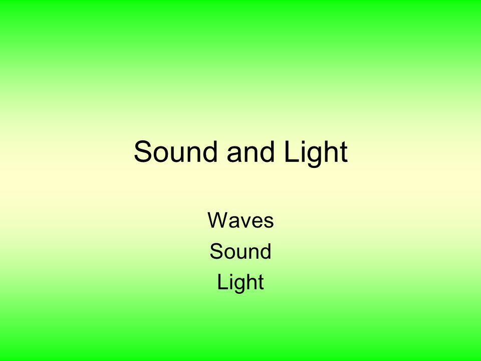 the uses of sound waves essay