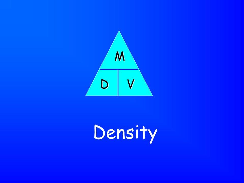 Density D M V