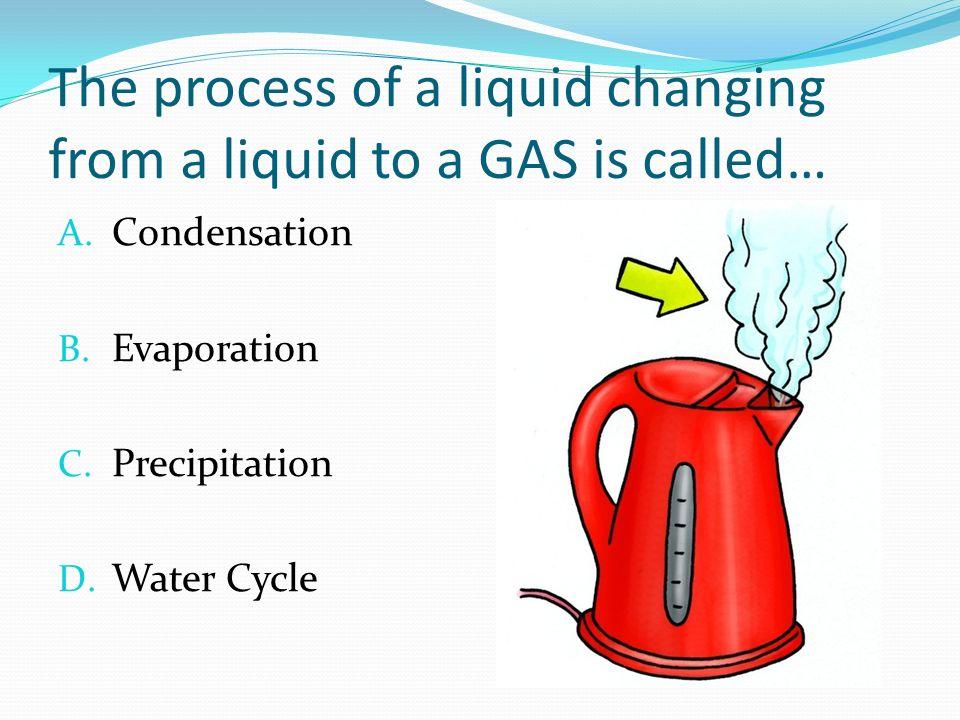 liquid to gas