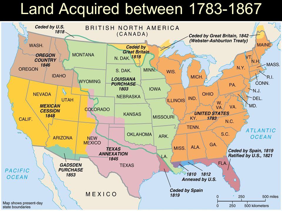 Manifest Destiny Manifest Destiny Belief That The United States - 1819 map of us