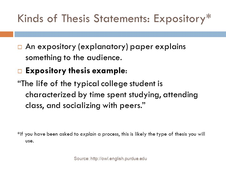 easy steps to a great thesis statement source a writer s  source owl english purdue edu kinds of thesis