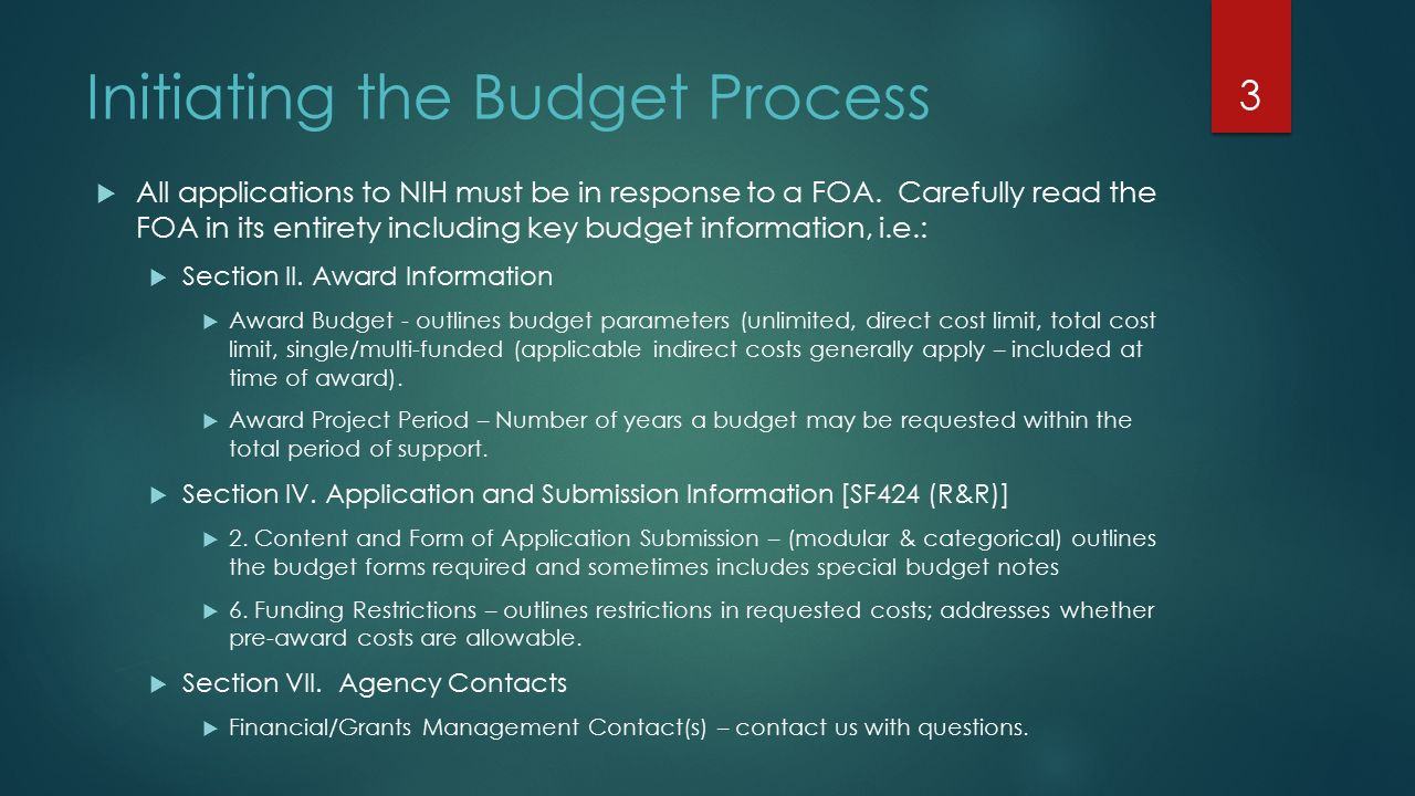 Fancy Nih Modular Budget Template Mold - Resume Template ...