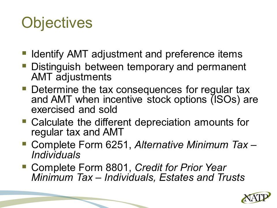 2015 Alternative Minimum Tax Presented by Jaimee Hammer, EA. - ppt ...
