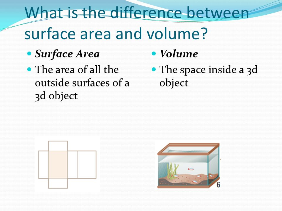 Obj find the volume of rectangular and triangular prisms section what is the difference between surface area and volume ccuart Choice Image