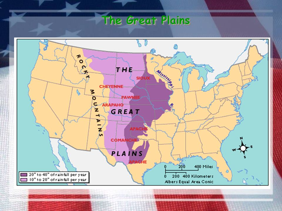 the setting and people of the great plains in north america Most europeans at the time when the american west was first being developed (from about 1840) regarded the great plains of north america as uninhabitable desert however the native americans - or, as they are sometimes called, the first nations - lived there successfully long before the arrival of the europeans.
