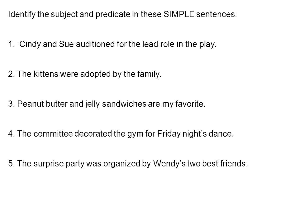 compound sentences and complex sentences