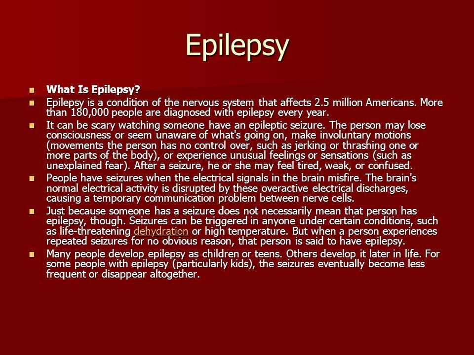 Epilepsy What Is Epilepsy. What Is Epilepsy.