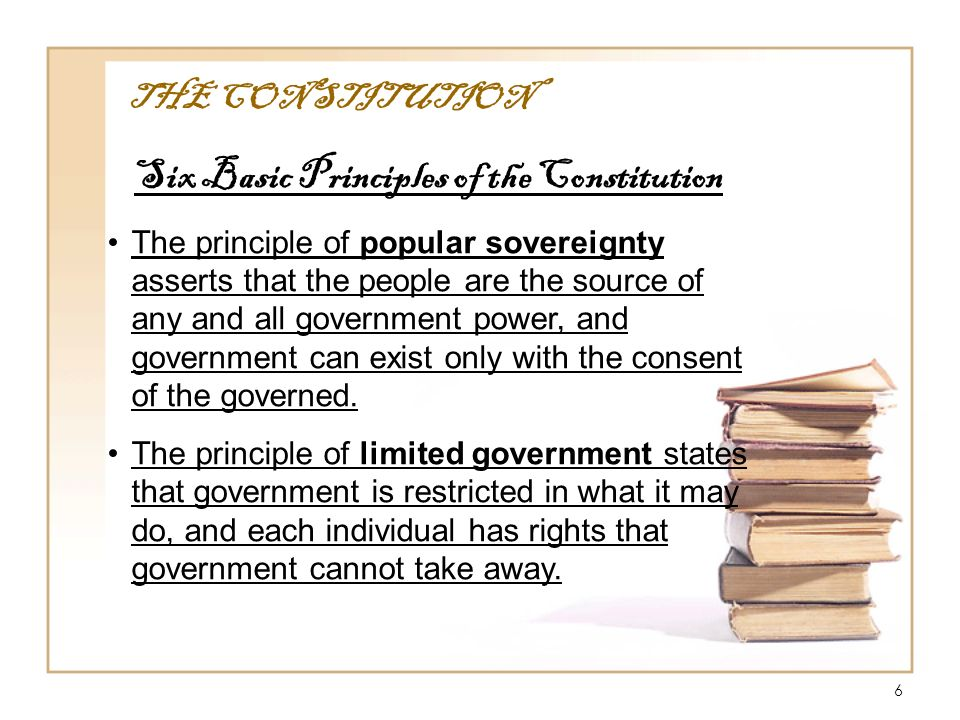 1 American Government The Constitution. 2 Outline of the ...