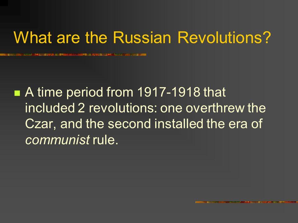 russian revolution timeline by sam