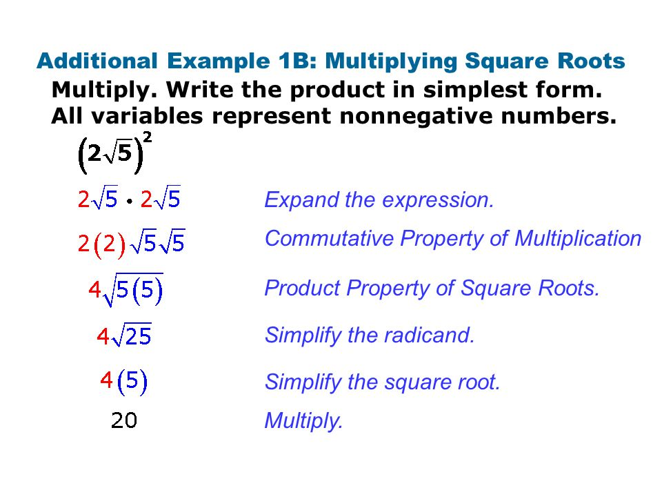 Homework Multiply. Write each product in simplest form. All ...