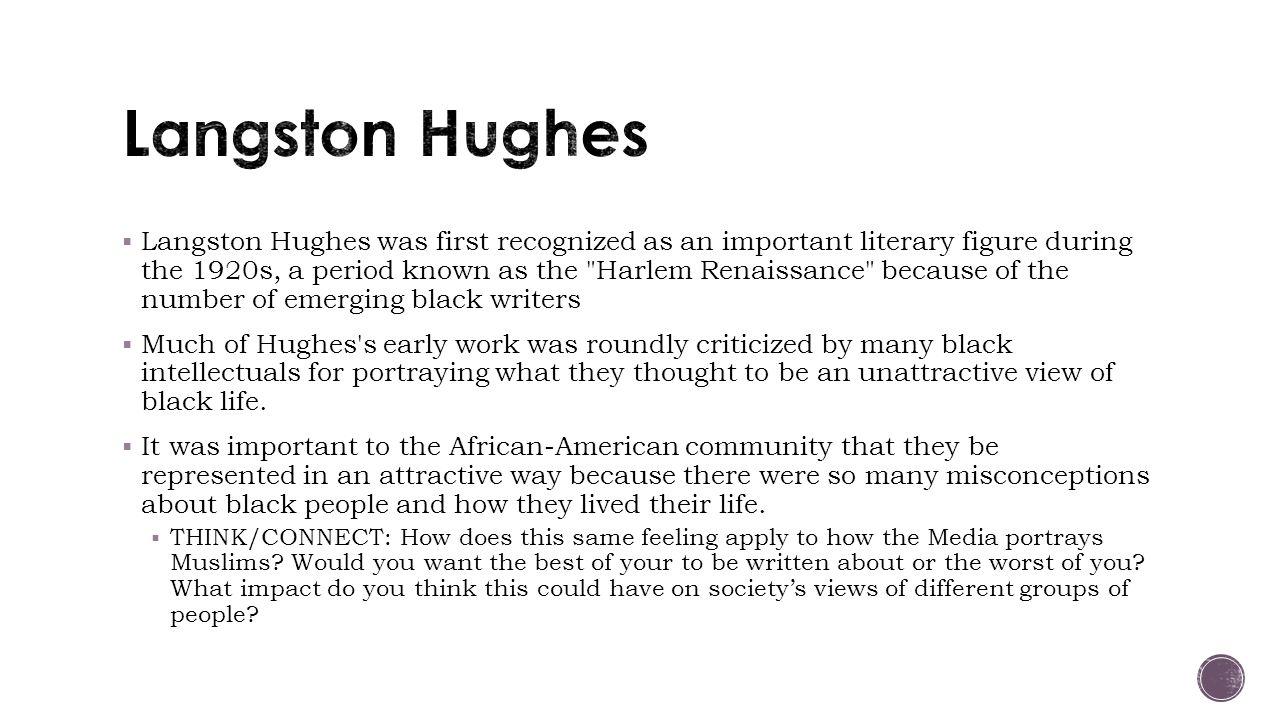 langston hughes prolific writer of black