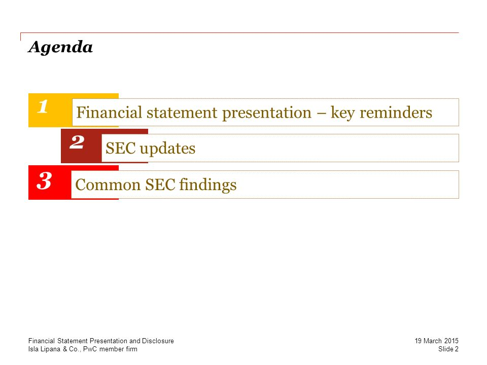 Securing Momentum Sec Updates On Financial Reporting Financial