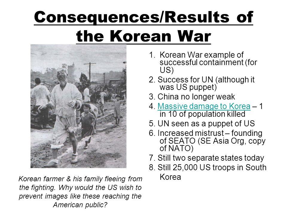 korean war effects