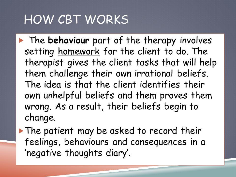 Cbt homework