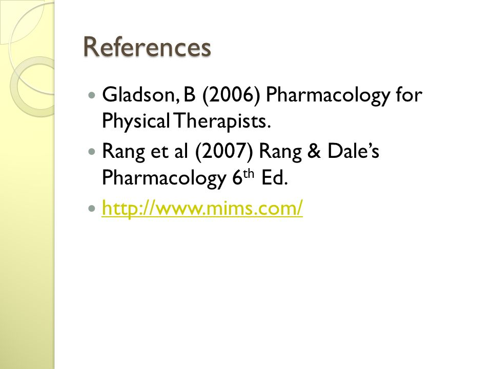 rang and dale pharmacology 6th pdf