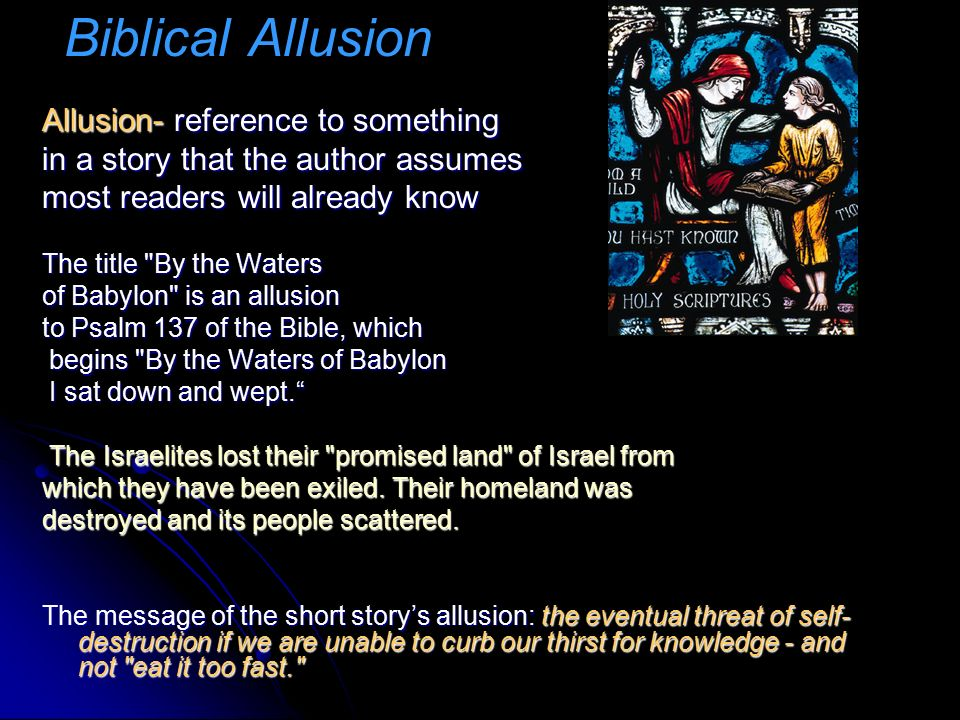 Biblical allusion cartoons