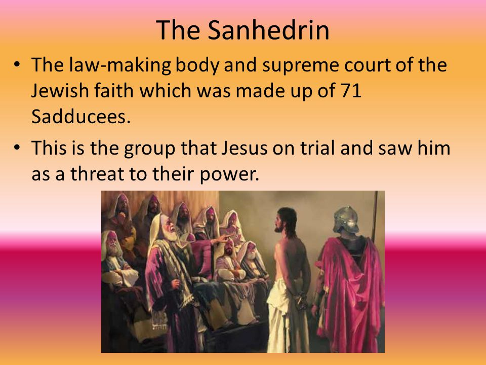 pharisees sadducees essenes and zealots Essenes, zealots, and trouble with rome in a recent post, we discussed how judaism has never had a uniform view of the law or its interpretation different groups.