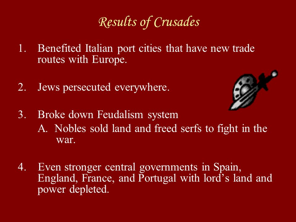 Crusades 4. Fourth Crusade: A. After Saladin's death.