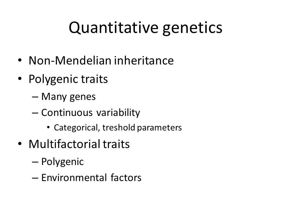 Quantitative genetics ppt download – Non Mendelian Genetics Worksheet