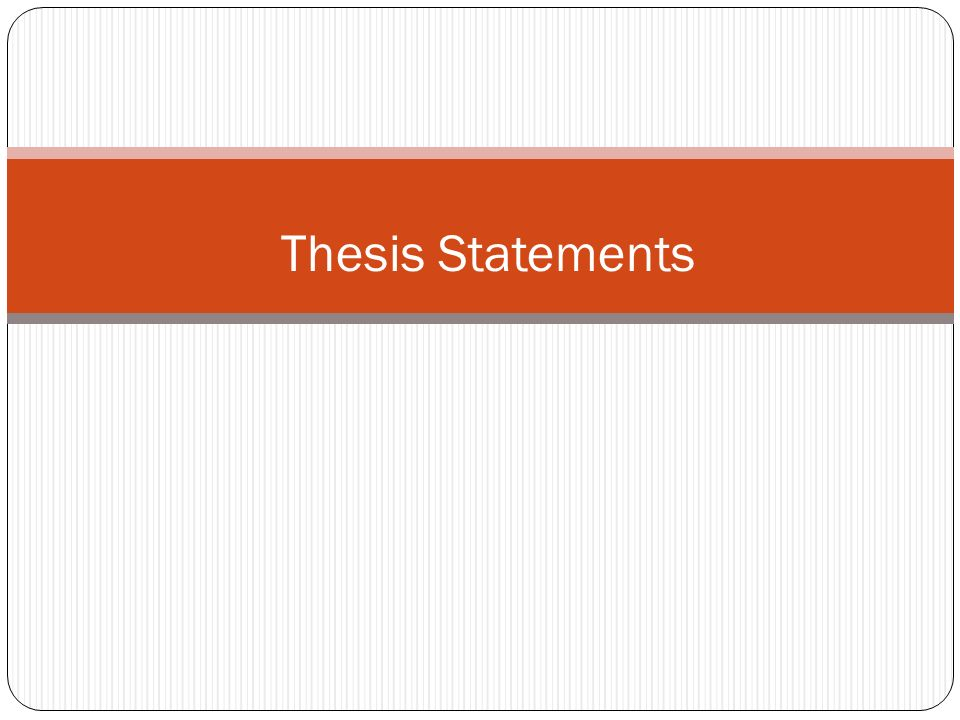 Conclusion of thesis