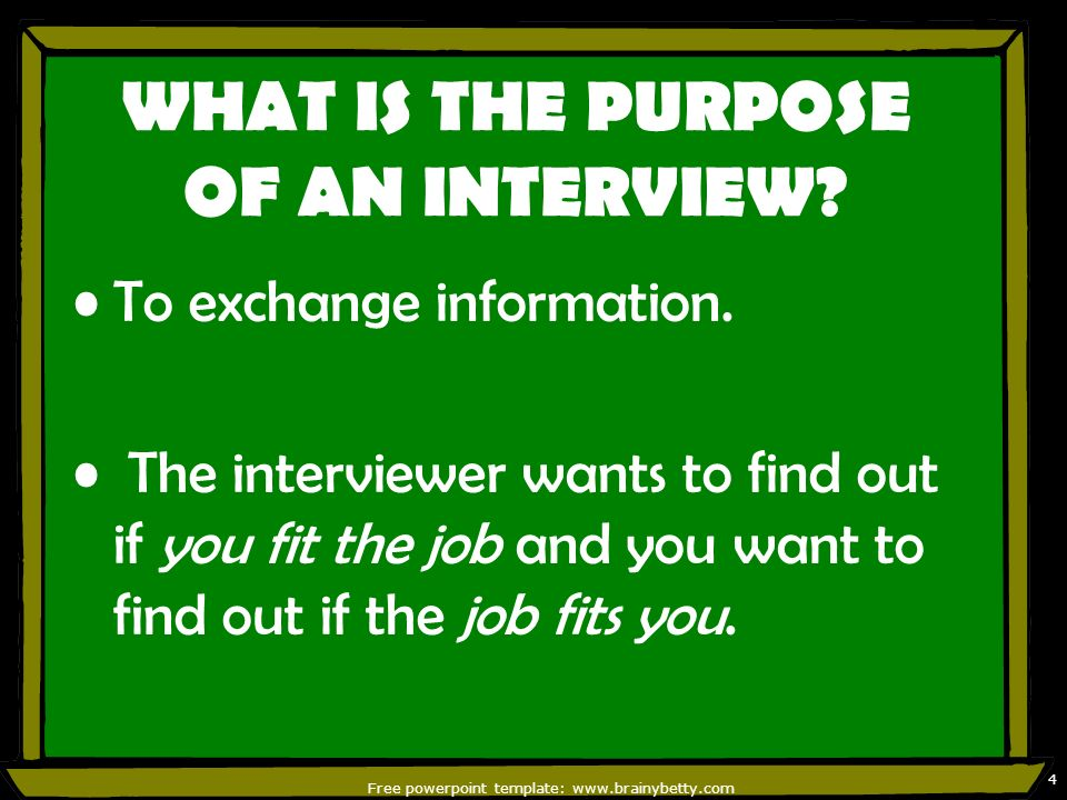 preparing for a job interview informational Preparing for the well-versed job interview aims at clearing it and getting the job in hand for any candidate informational interview has to be given much importance in order to create curiosity among interviewer and the candidate of getting to know each other's profile much better.