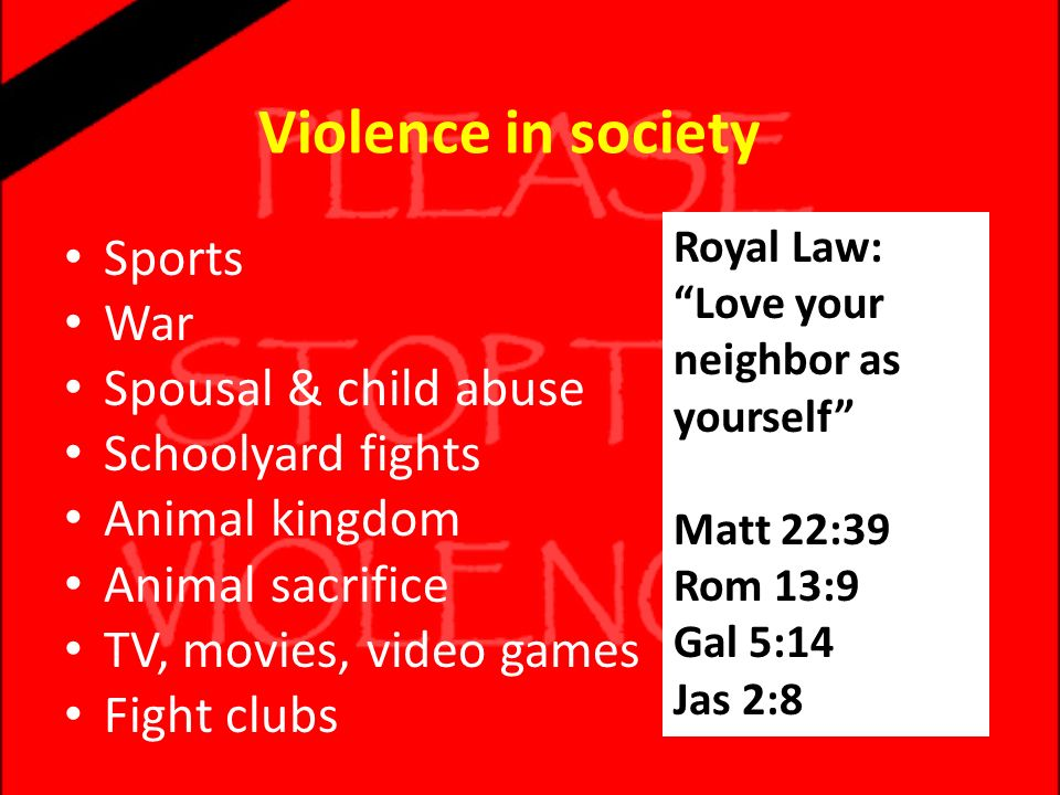 violence society