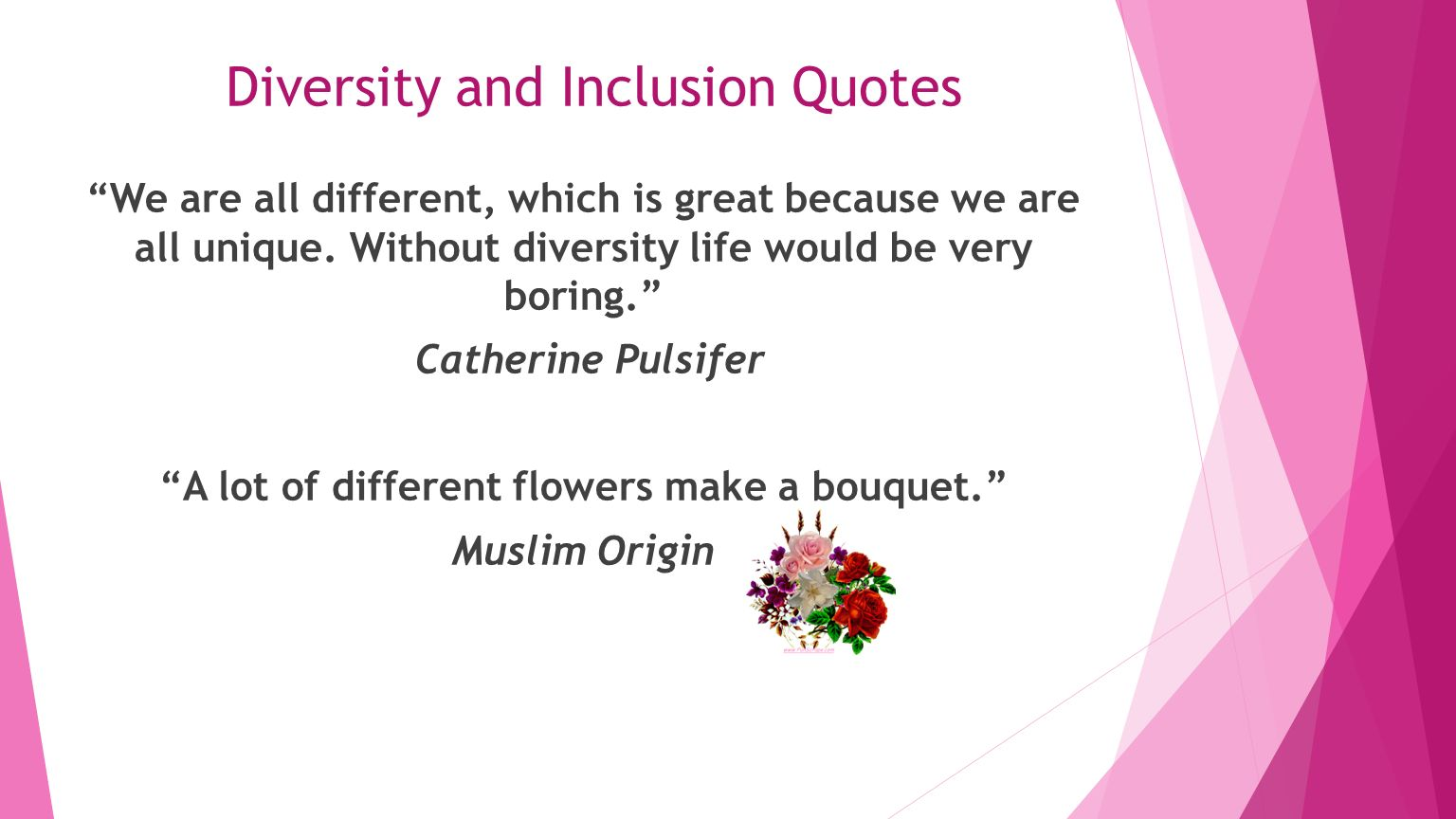 """Diversity And Inclusion Quotes My Journey My Purpose My Perspective"""" Presented By Katina Lane"""