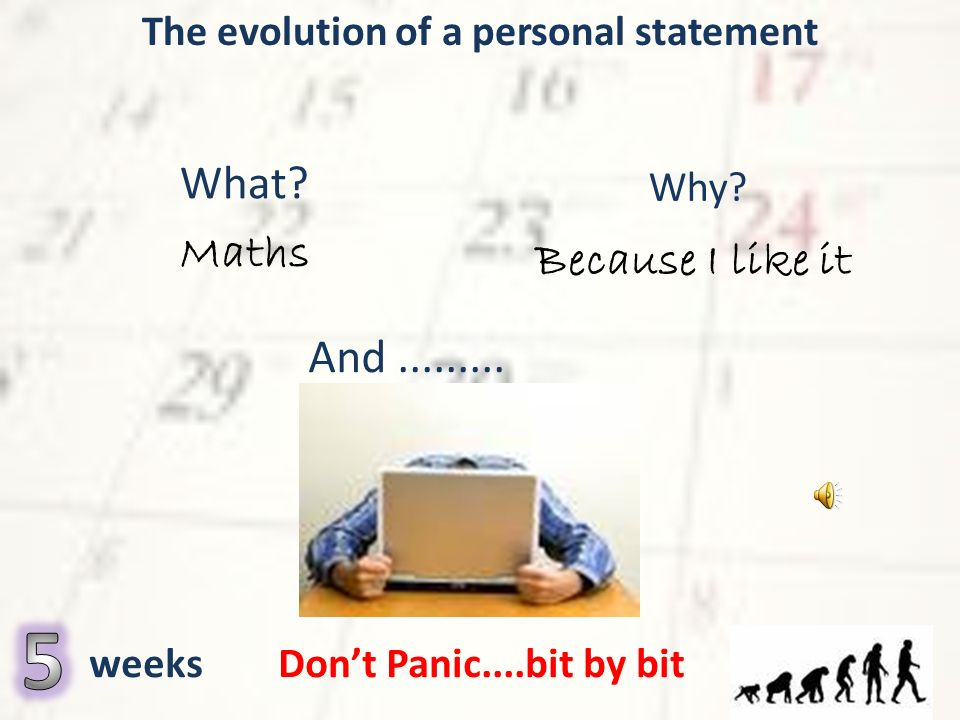 Personal Statement   A Higher Education Blog University