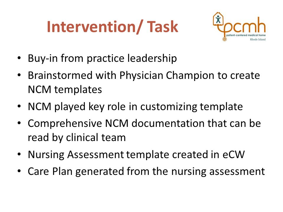 Nursing assessment care plan documentation templates lorraine 4 intervention pronofoot35fo Image collections