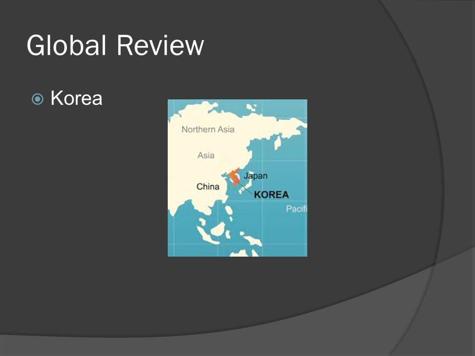 Global Review  Korea