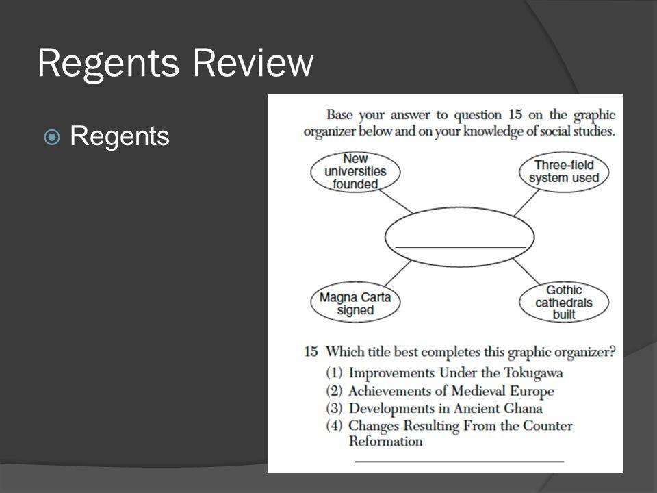 Regents Review  Regents