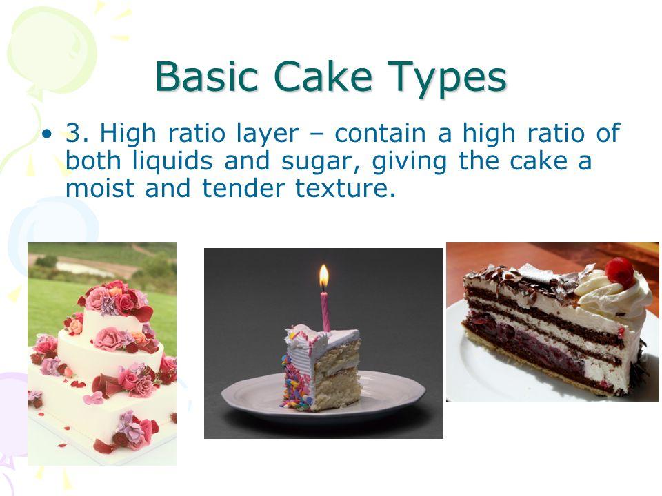 Cakes 203 Rebecca Benners Basic Cake Types 1 Sponge or foam