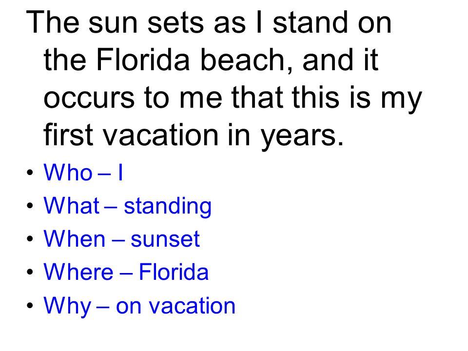 Descriptive essay beach vacation