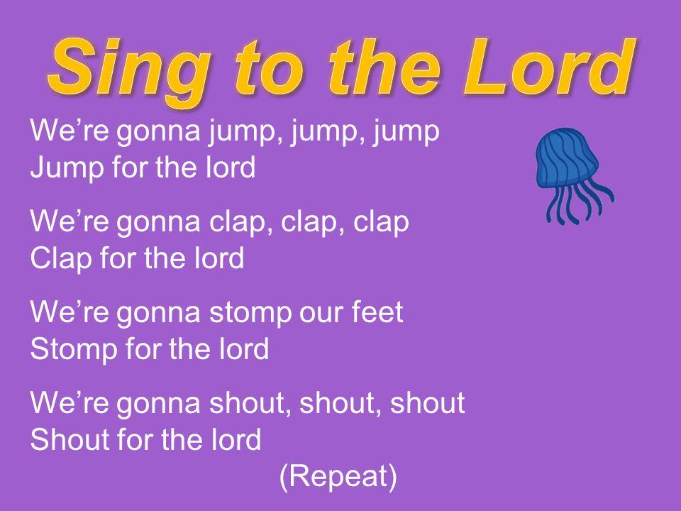 Lyric lyrics to shout to the lord : Bold music Lyrics. I will shout it out crazy loud! won't go along ...