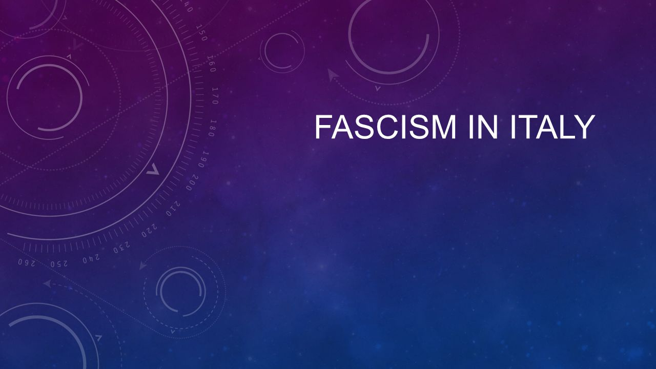 Are there, if any, good aspects of Fascism?