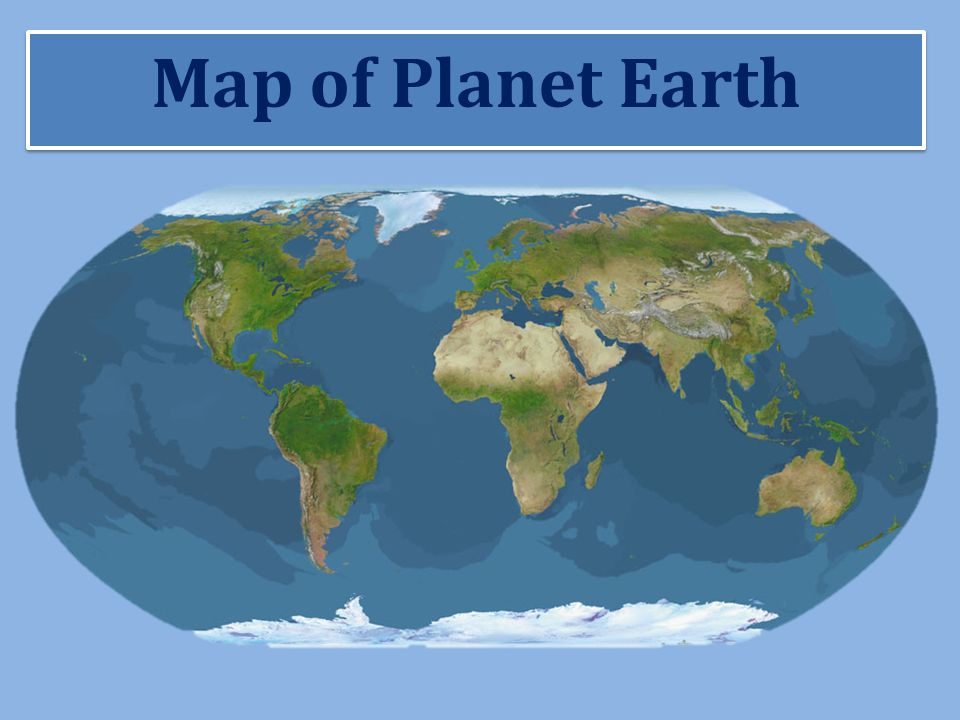 Exploring Earths Water Resources Map of Planet Earth  ppt download