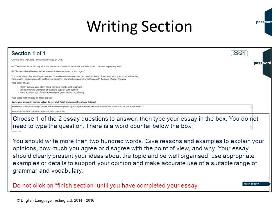 english language testing taking the password knowledge  english language testing