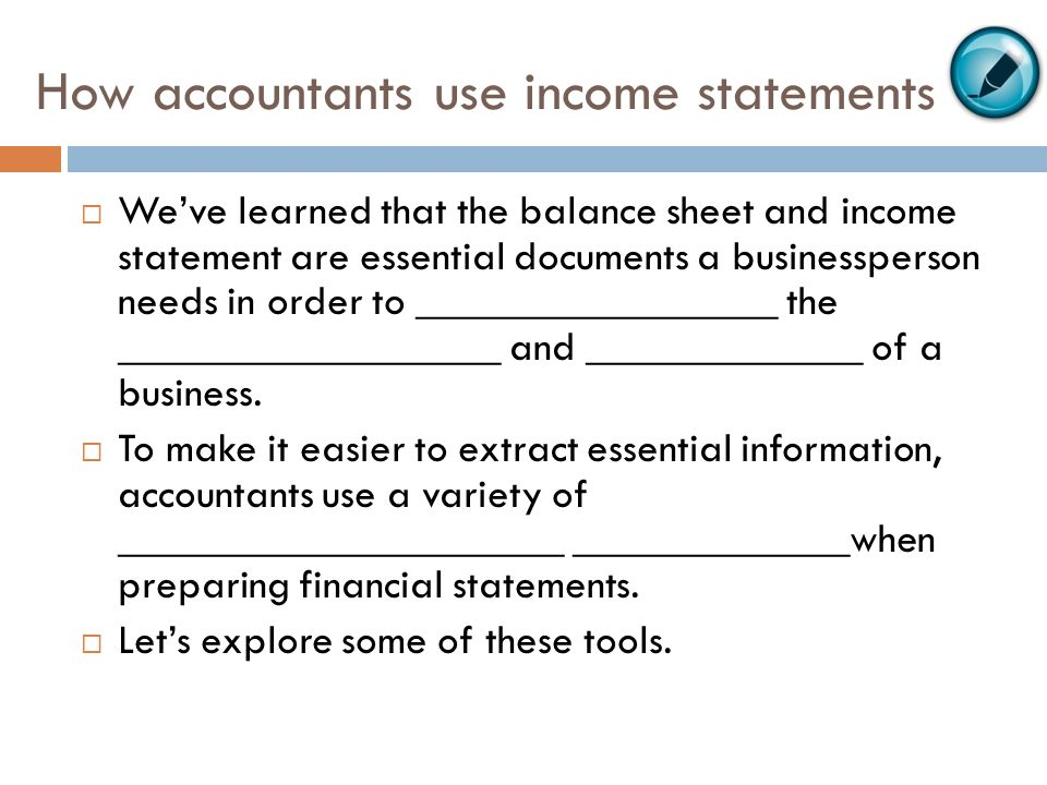 Baf3M1 The Worksheet And Financial Statements Chapter 8, Section