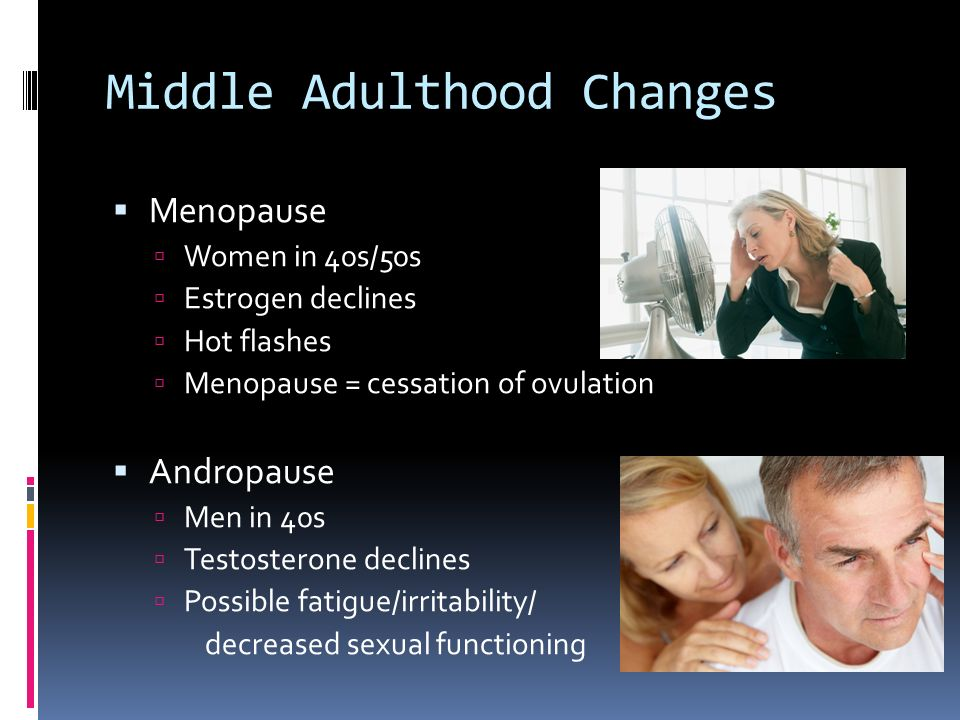 middle adulthood 1