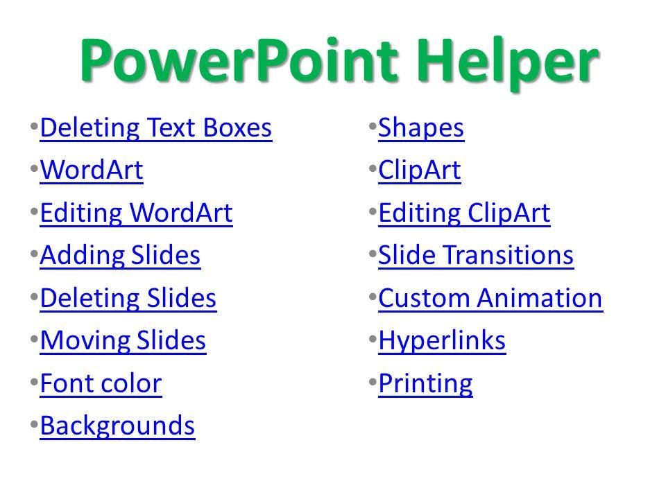 powerpoint presentation helper