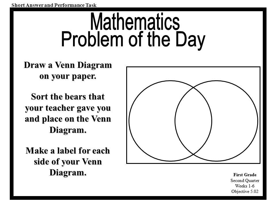 Venn Diagram For 1st Grade Selol Ink
