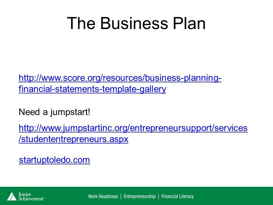JA Be Entrepreneurial Volunteers Name Volunteers Title - Scoreorg business plan template