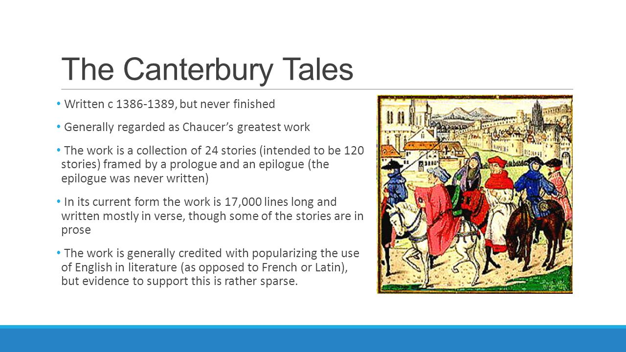 an analysis of the perceptions of marriage in the canterbury tales by geoffrey chaucer The canterbury tales by geoffrey chaucer free notes / literary analysis - the canterbury tales the worthy friar had arranged the marriage.