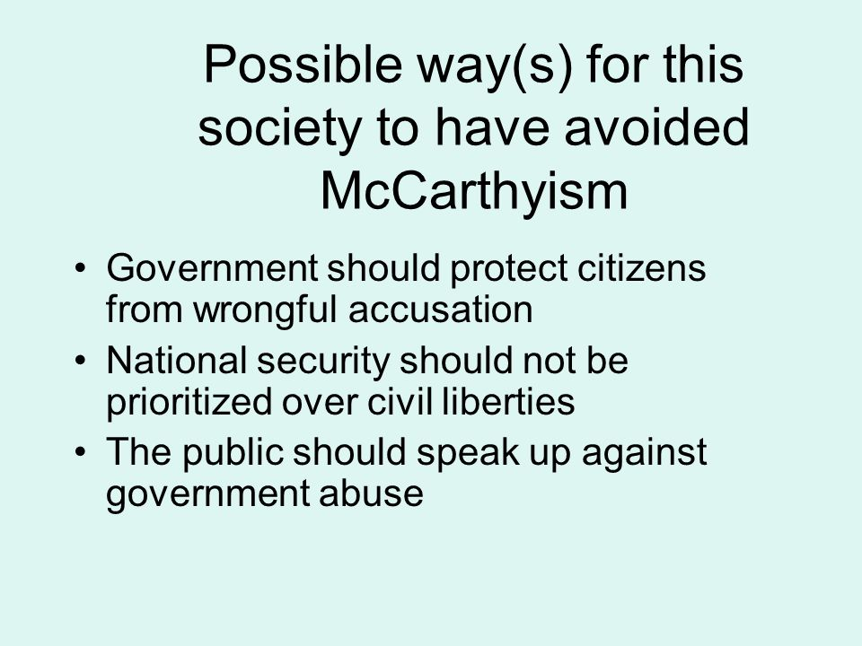 mccarthyism essay mccarthyism vs m witch trials essay daily five  mccarthyism vs m witch trials essay informative essay the crucible vs mccarthyism assignment write an informative