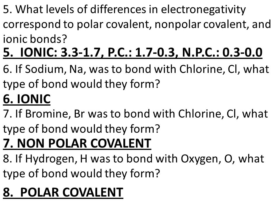 CHAPTER 6 TEST: CHEMICAL BONDING REVIEW SHEET. 1. What are the 2 ...