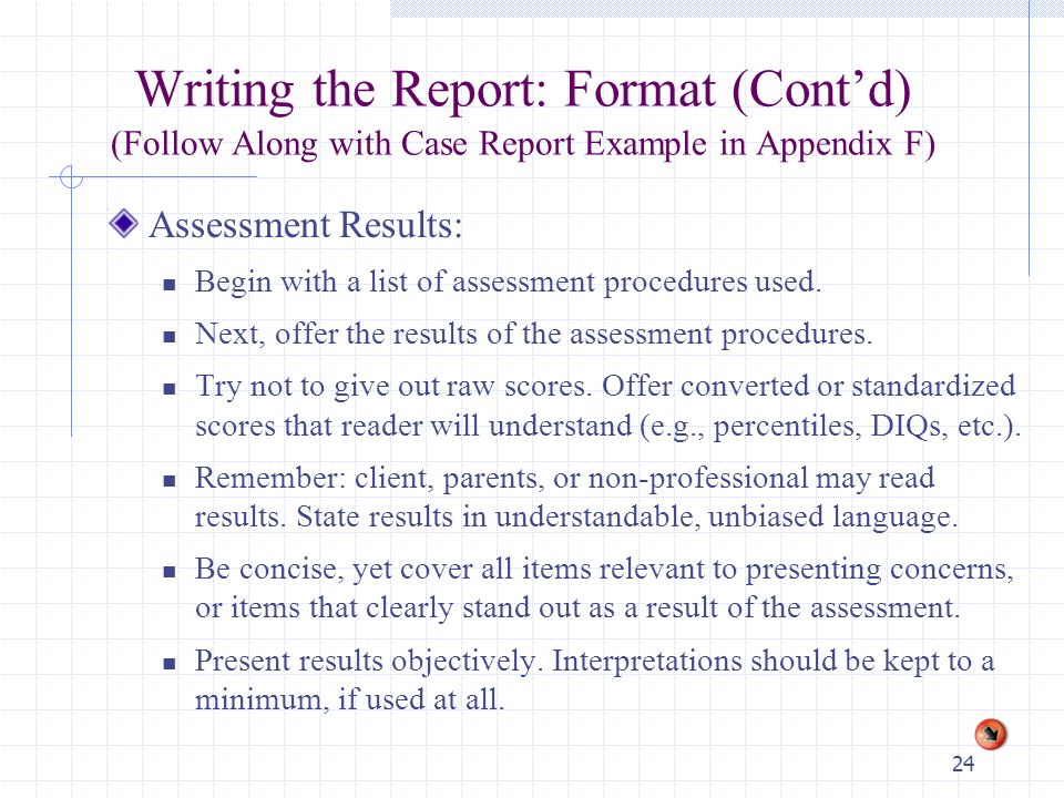 1 Chapter12 The Assessment Report Process: Interviewing The Client