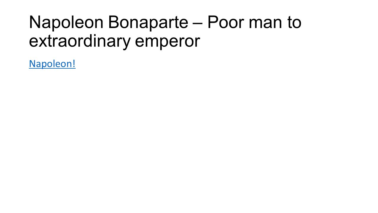 Chapter 9 section 1 jefferson takes office republicans take 13 napoleon bonaparte poor man to extraordinary emperor napoleon robcynllc Image collections
